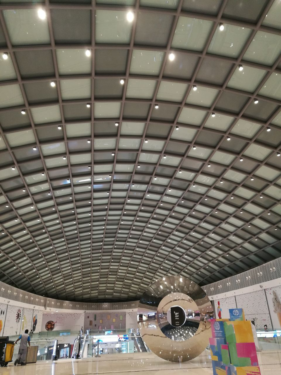 ceiling, indoors, transportation, architecture, real people, technology, day