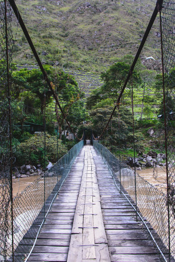 Bridge - Man Made Structure Day Footbridge No People Outdoors Scenics Tranquil Scene Water The Great Outdoors - 2018 EyeEm Awards The Traveler - 2018 EyeEm Awards