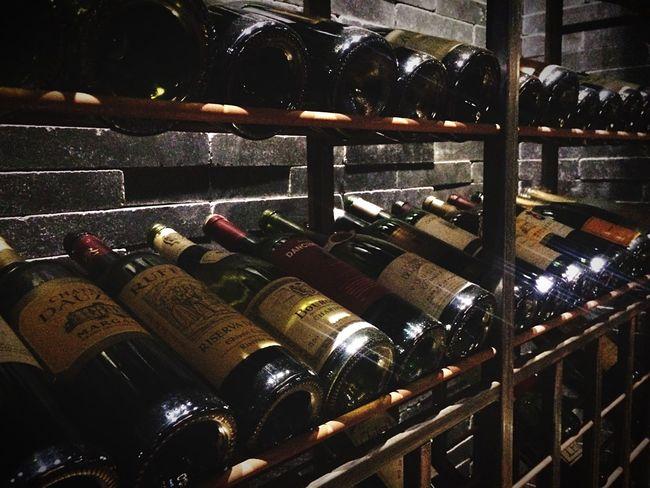In Vino Veritas Wine Wine Bottles Wine Cellar Learn & Shoot: Balancing Elements Interior Design IPhoneography Taking Photos Road City Life