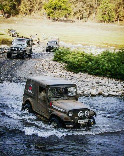 Rally Mahindra Mahindrathar Offroad Water Jungle SUV 4x4 The Places I've Been Today