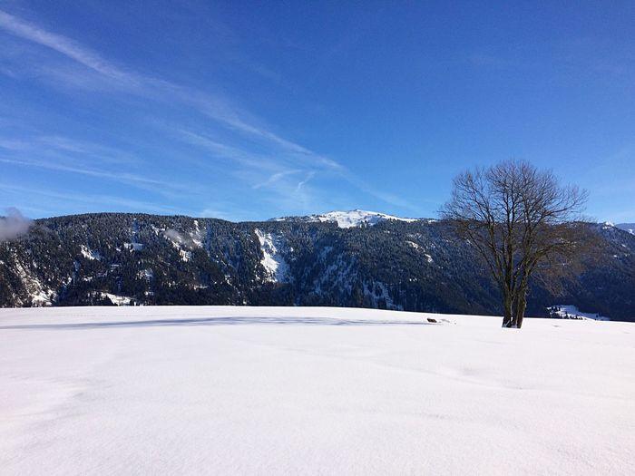 Mountains Snow Savoie