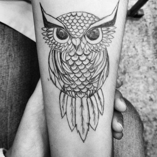 Art Tatoo Draving Blac&white