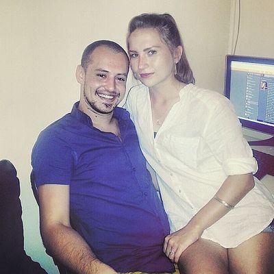 Russiancouple Russian Russiangirlsss_ Love cute Nastya Sergey My love❤