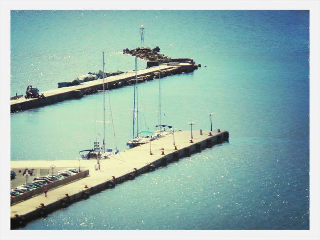 GREECE ♥♥ Port From My Balcony