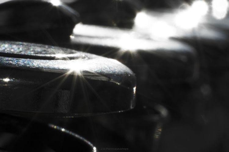 Close up of sunlight