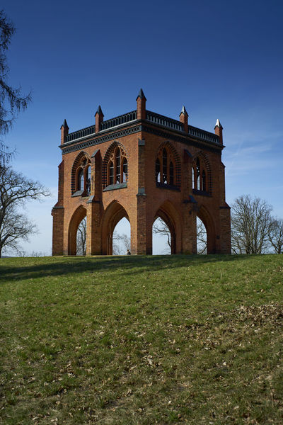 Arch Architecture Babelsberg Babelsberger Park Built Structure Day Grass History No People Outdoors Post Sky Travel Destinations