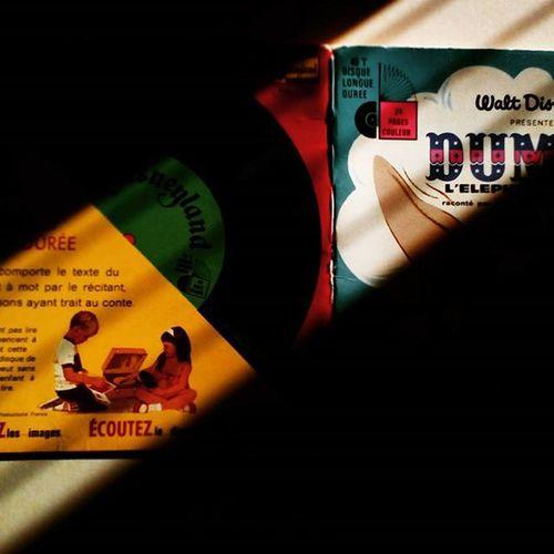 the audiobook Vintage Vintagestyle Vinil DUMBO Waltdisney Vscocam Sundaystories Light