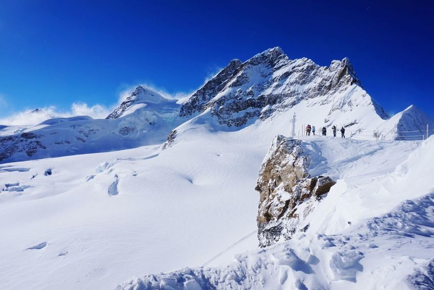 Jungfrau Switzerland Swiss Snow Top Of The World