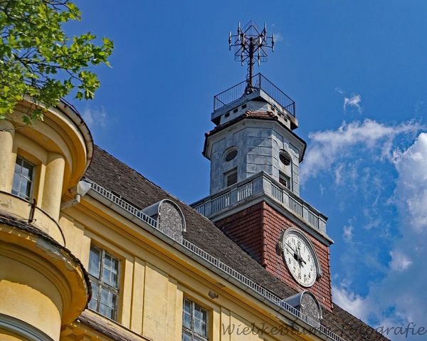 Lost Places Architecture Blue Building Building Exterior Built Structure Clock Day History Low Angle View Nature No People Outdoors Place Of Worship Sky The Past Time Tower Weather Vane Window