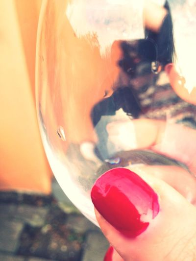 Nail(He)Art Style Red Nails Random Nailart  Wine Glass Party Heart People Women Around The World Wine Not Love Yourself