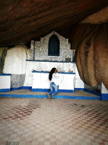 One Person Real People Quilombo AFRICAN CULTURE Brazil Women Gruta Chapel Lost In The Landscape