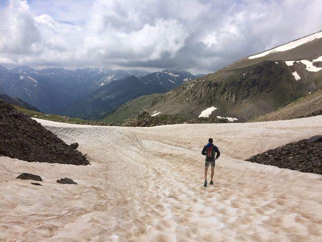 July Snow Mountain