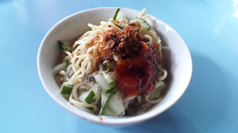 Hot Noodle Hot Noodle Noodle Food Nyami Bowl Food And Drink Ready-to-eat High Angle View Food Healthy Eating Indoors