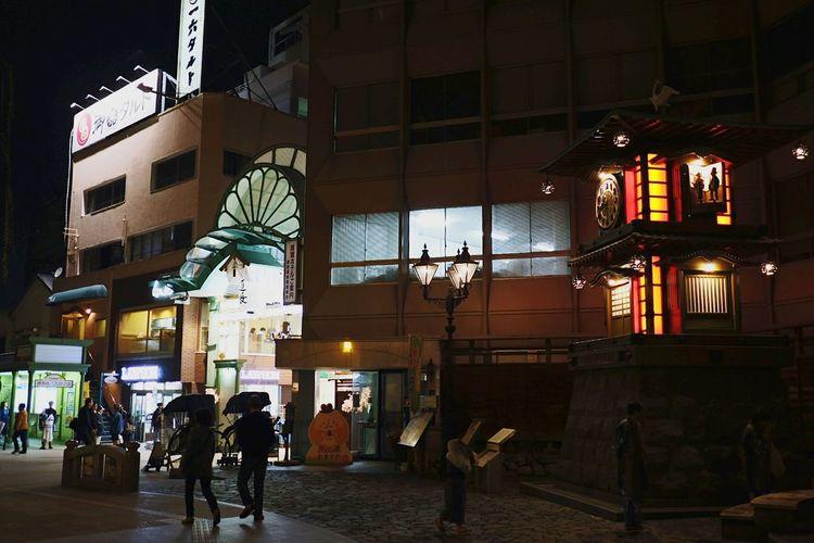 夜の道後。 City Night City Life People X-PRO2 Xf23mmf2