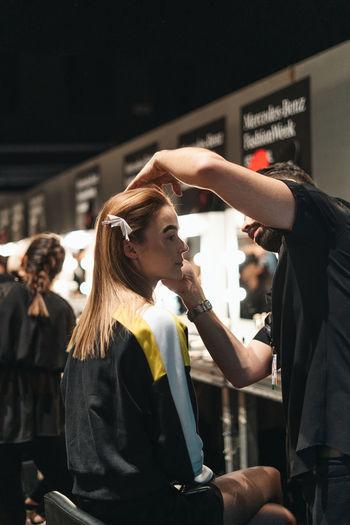Mercedes Benz Fashion Week - Istanbul Mbfw Mbfw Istanbul Istanbul Fashion Fashion Week Fashion Model Fashion Photography Backstage Runway Makeup Hair Stylist Model Modeling Design Turkey