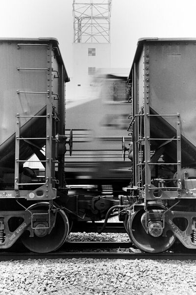 43 Blackandwhite Black And White Train 35mm Film Edmond Oklahoma  Nikon N8008 Motion
