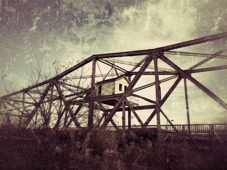 Abandoned Bridge, Sanford,Florida, over the St. Johns River Iphone6plus Abandoned Places IPhoneography Abandoned Bridge Sanford Florida