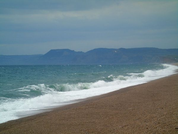 Beach Sea Wave Water Tranquility Nature No People Beauty In Nature Horizon Over Water Tide Travel Destinations Outdoors Scenics Weymouth Dorset