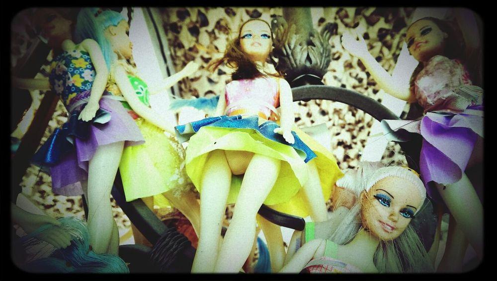 Barbie in Ibiza guess where?