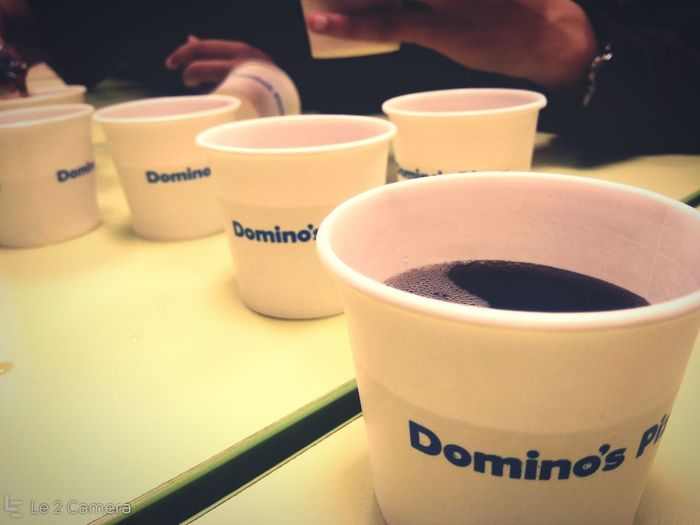Close Up Drinks Cola Cups Art Is Everywhere EyeEmNewHere Pizza Shop Paper Cups Dominos Domino's Pizza Colddrinks Cold Drinks Still Life Nashik India Le2 Le2 Camera LeEco LeEco Le2