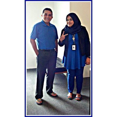 Bersama orang kuat BN. GelombangBiru PRU13 Bluewave LainKalilah PeopleFirst 1Malaysia