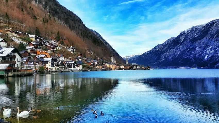 Austria Photos Lake View Landscape Urban Urban Landscape Peace Beautiful Urban Geometry Traveling Relaxing Mountains Lake Taking Photos Clouds And Sky Showcase: February Streamzoofamily Samsung Galaxy Note 4 The Great Outdoors - 2016 EyeEm Awards