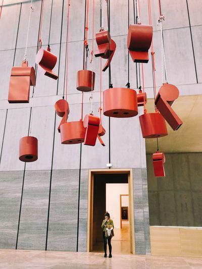 Modern art 🎨 Modern Art Modern Art Gallery Museum Of Modern Art Museum Leipzig Red City