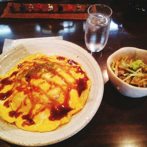 Food オムライス 美味い Delicious 明石市 カフェ