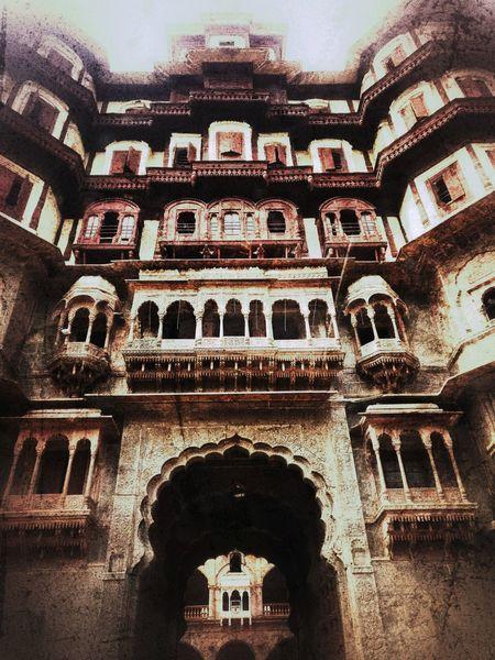 Old Royal palace Rajwada Royalliving Architectural Detail Old Finish Quickshot Heritage Places Huge Structure