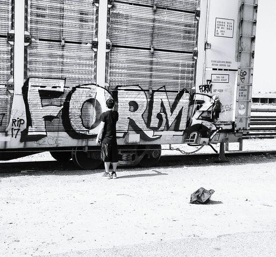 Traindayz Train Station Train Tracks Cheese! Tranquil Scene Check This Out Sunset_collection Hello World Graffiti Graffiti Art Graffitiart