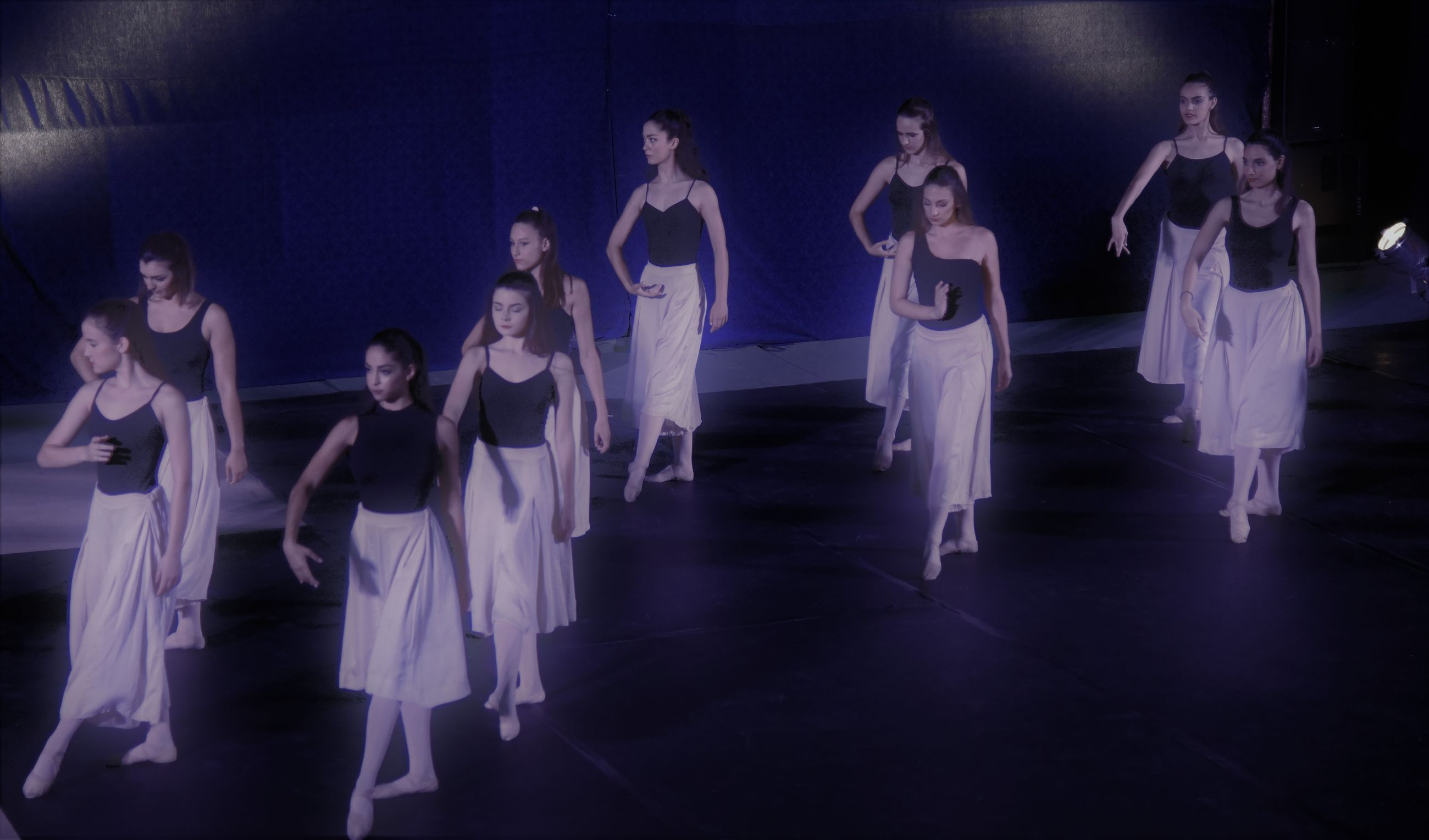 dancing, dancer, practicing, ballet, performance, ballet dancer, full length, skill, leisure activity, large group of people, grace, performing arts event, indoors, young adult, dance floor, group of people, arts culture and entertainment, lifestyles, women, young women, stage costume, coordination, people, adult