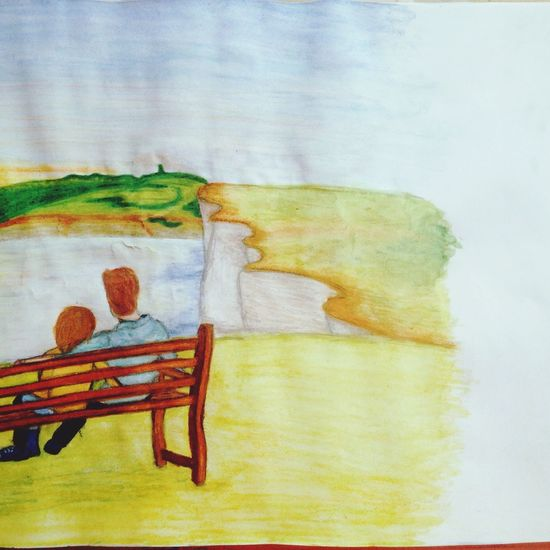 Now Is Good MOVIE Drawing Aquarell