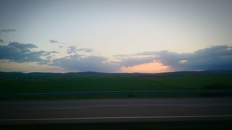 Sunrise Traveling Step