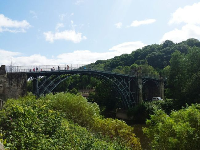 Iron Bridge England Hanging Out Taking Photos Talking Photots Day Trip Out