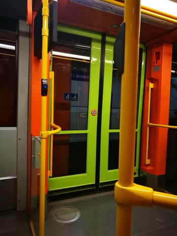 Indoors  Metro Window Metro Train Inmetro Metro Station Metrotrain No People Nofilter No Filter Nofilternoedit Nofilterneeded Nofilter#noedit NoFilterNoEdition Justphotography HuaweiP9 Huaweiphotography HuaweiP9Photography Huawei P9 Leica Nofilters Door No People Day Outdoors Yellow Built Structure Multi Colored