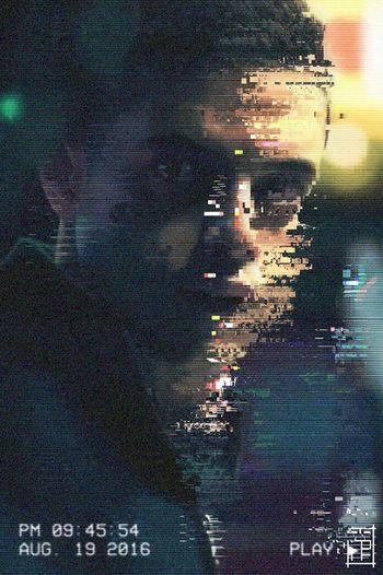 Glitch Pixelated First Eyeem Photo Technology Futuristic