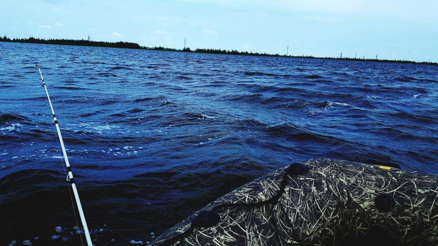 Белое озеро, красота Самотлора. ВОЛНА Рыбалка Отличныйдень Выходные Water Backgrounds Full Frame Sky Close-up