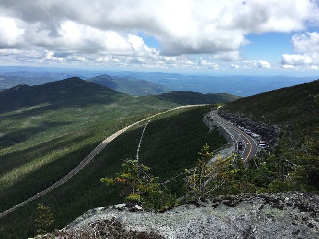 Lake Placid Adirondack Mountains Whiteface Mountain View Sky And Clouds Mountain Beauty In Nature Scenics Sky Nature Tranquility Landscape Cloud - Sky Outdoors Growth Tranquil Scene Day Mountain Road No People Winding Road