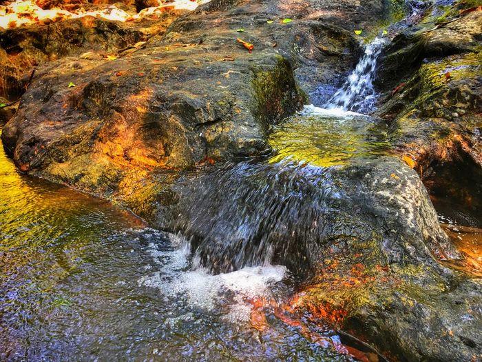stream   sarika waterfall   nakhon nayok, thailand Thailand Sarika Waterfall Beauty In Nature Nature No People Water Outdoors Waterfall Motion Scenics