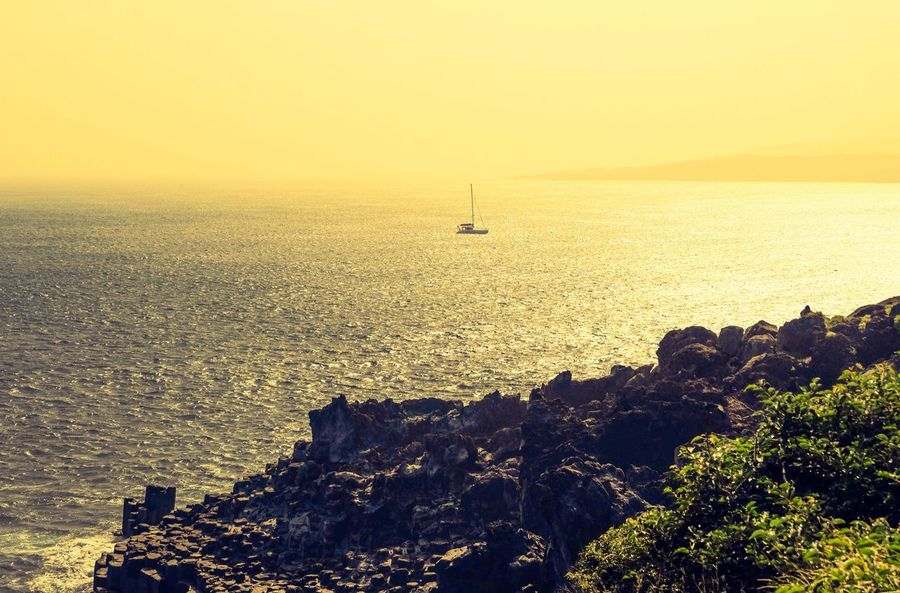 The Explorer - 2014 EyeEm Awards Sea Sunset Sunrise