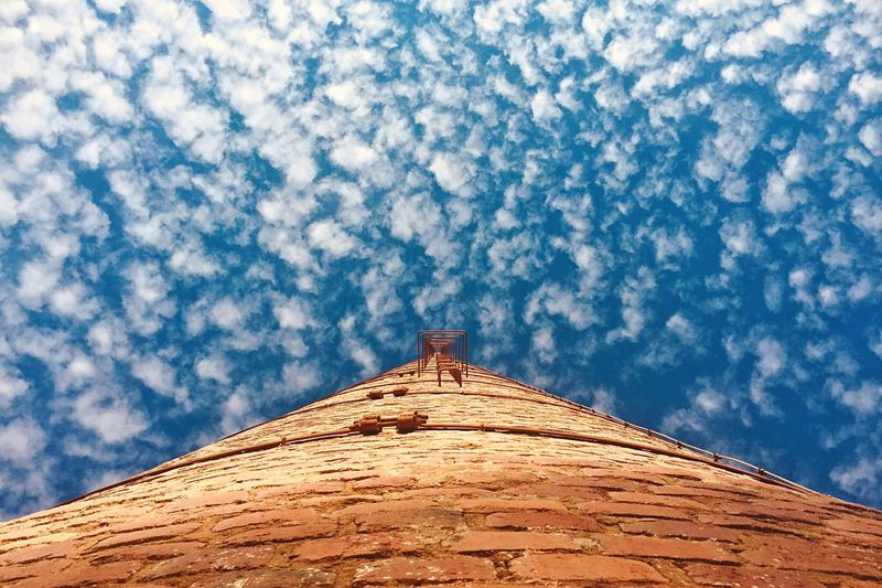 Sky Cloud - Sky Architecture Low Angle View Building Exterior Built Structure Let's Do It Chic! Respect For The Good Taste History Blue No People Outdoors Roof Nature EyeEmNewHere The Week On EyeEm Perspectives On Nature