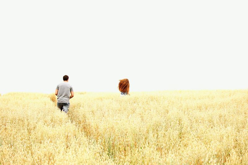First Eyeem Photo Field Fields Of Gold Love Redhead Beauty In Nature