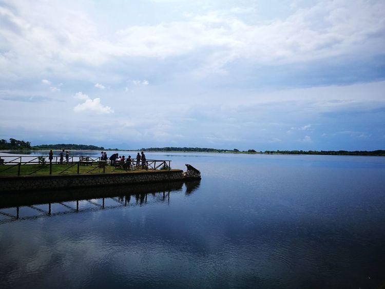"""il silenzio in una foto"" Water Rural Scene Reflection Sky Landscape Cloud - Sky"