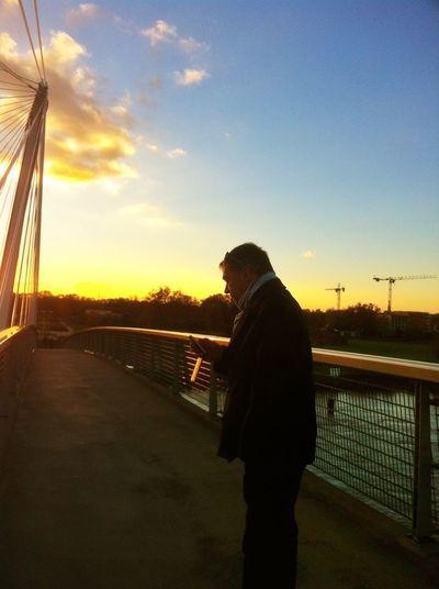Sunset Love Bridge