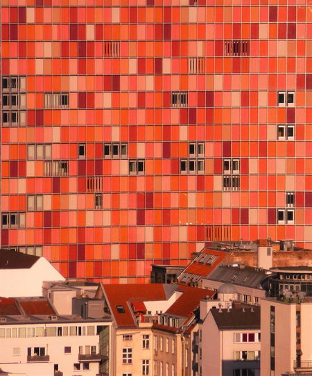 Apartment Architecture Building City Cityscapes Red Residential Building Residential Structure Side By Side The Architect - 2016 EyeEm Awards EyeEm Best Shots EyeEm Best Edits Fine Art Eye For Detail Showcase June Fine Art Photography Home Is Where The Art Is Colour Of Life A Bird's Eye View TakeoverContrast Capture Berlin The Architect - 2017 EyeEm Awards Berlin Love Discover Berlin The Graphic City Stories From The City
