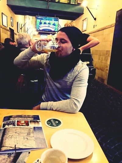 Kneitinger Boock Hanging Out That's Me Enjoying Life Beer First Eyeem Photo