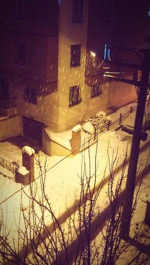 From My Window Snowy Days in Eskişehir Turkey ❄ ❄ ⛄
