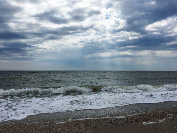 Azov Sea Beach Sky
