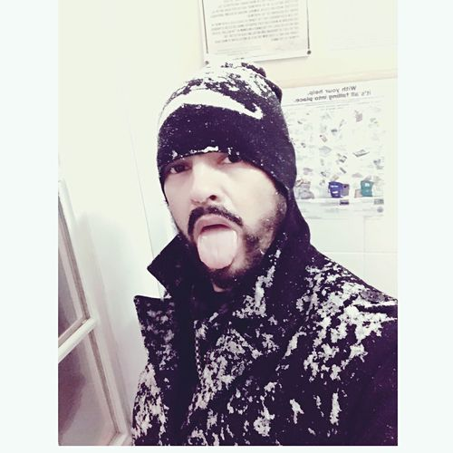 Snow ❄ Snowswag Snow❄⛄ Snowman⛄ Snowday DrunkAsFuck EyeEm'ing While Drunk Drunkselfie Gayswag Drunkgay