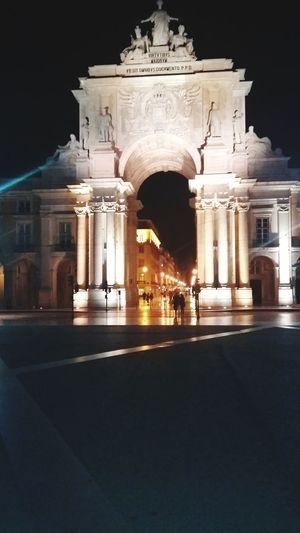 First Eyeem Photo Praça De Comércio Lisboa Portugal é Lugar Muito Vizitados Pelo Turismo
